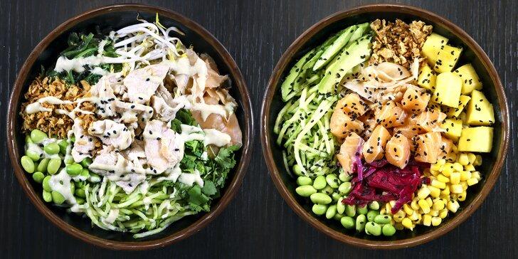 25% sleva na celý sortiment asijské restaurace v Karlíně: závitky, poké bowl i nudle udon