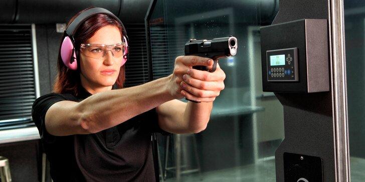 Miřte přesně: 27 nebo 63 nábojů a 5 či 10 zbraní na střelnici v Opavě