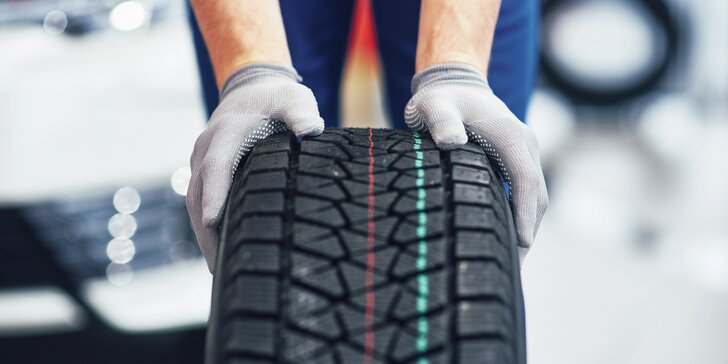 Kompletní přezutí kol i s montáží pneumatik: plechové či ALU disky, 13–21″, osobní auta nebo dodávky