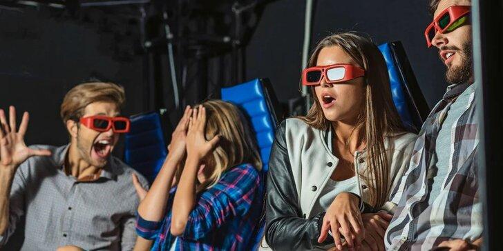 Zažijte pátou dimenzi: lístek na libovolný film v 5D Cinema Maxim