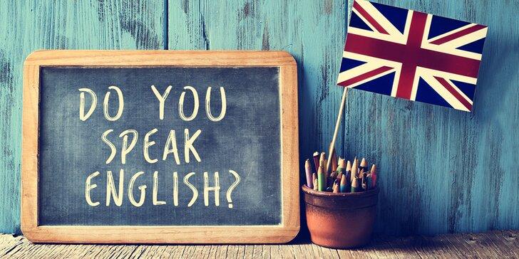 Online kurz angličtiny s přípravou na certifikát B2: rodilý mluvčí, písemná i mluvená cvičení
