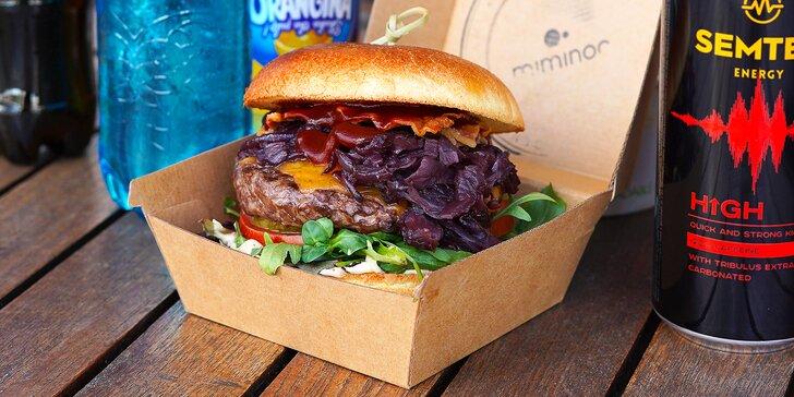 Skočte si pro pizzu nebo burger: take away jídlo a pití z restaurace pod Žižkovskou věží