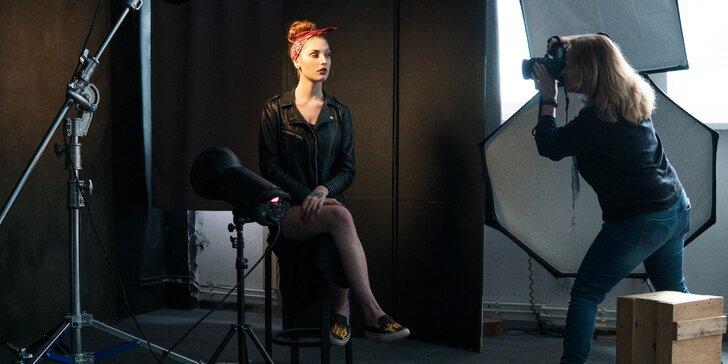 Online fotografické videokurzy: studiový portrét, retuš a základy Lightroomu