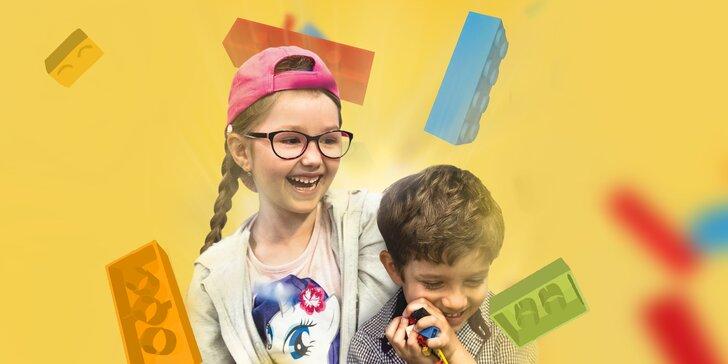 Vstup do Muzea Lega pro děti i dospělé: modely i prostor na hraní
