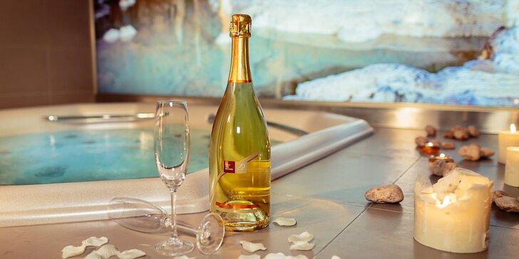 Romantika a relaxace ve dvou: 60 nebo 90 minut v privátním wellness