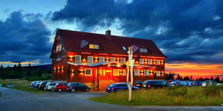 Pohodová dovolená ve Špindlu pro páry i rodiny: all inclusive, wellness i sportovní zázemí