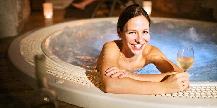 Wellness pobyt pod Pálavou: 2 nebo 4 noci s polopenzí, sauny, vířivka i masáže