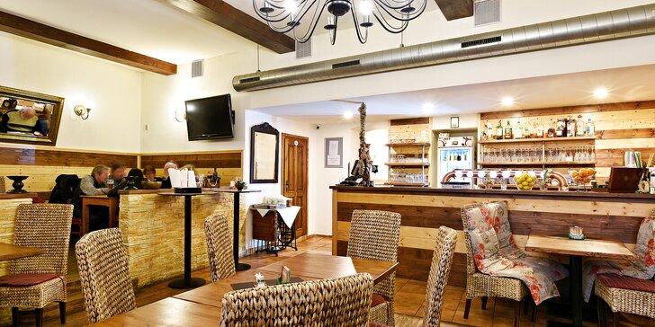 Restaurace u Eriky: otevřené vouchery v hodnotě 300, 500 nebo 800 Kč