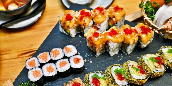 30% sleva na celý sortiment v dejvickém Sushi DuHa: saláty, tradiční polévky, nudle i sushi