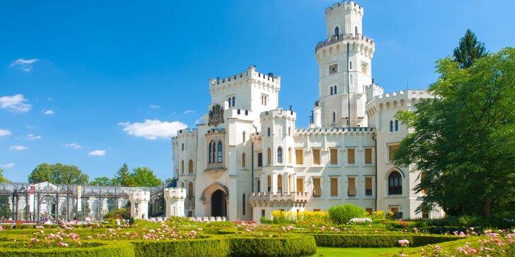 4* relax v Hluboké nad Vltavou se snídaní či polopenzí a novým wellness
