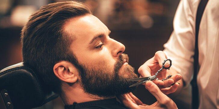 Úprava vousů či střih pro dospělého i dítě v barber shopu