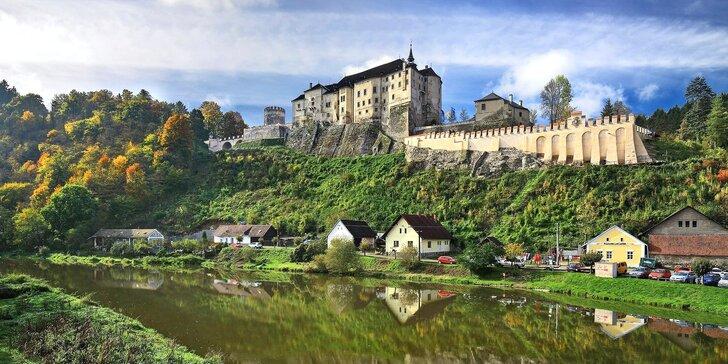 1denní výlet Po Sázavě na Český Šternberk včetně sjíždění řeky, návštěvy hradu a hospody