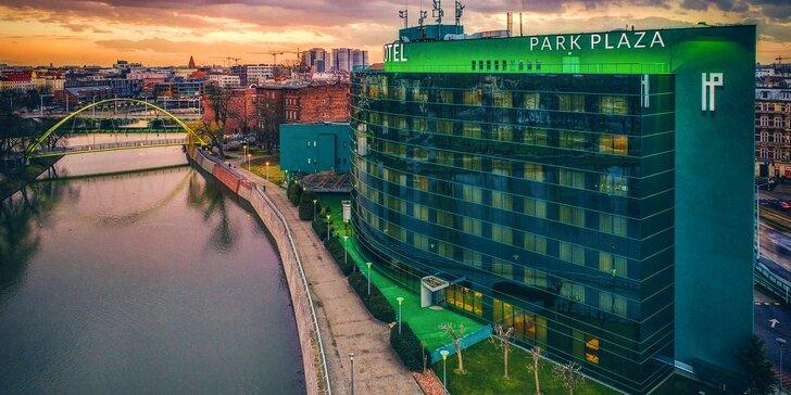 4* pobyt u centra Vratislavi: hotel přímo u Odry, snídaně a možnost sauny