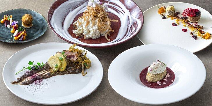 Luxusní gastrozážitek: 6chodové degustační menu pro dva s aperitivem i vinným párováním