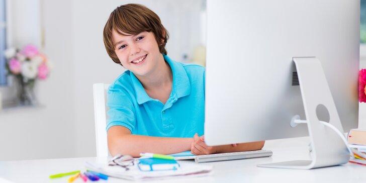 Online kroužek základů programování ve Scratchi pro děti