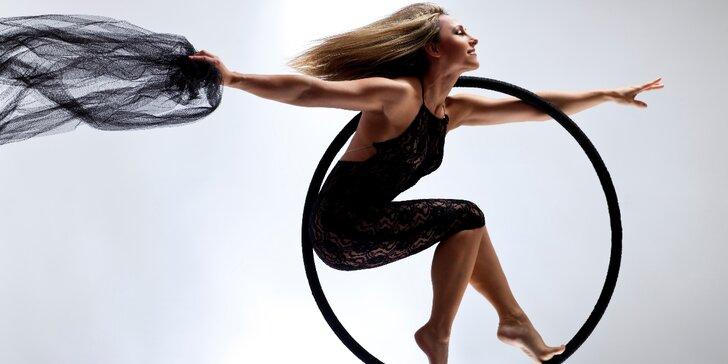Tančete: 3měsíční kurzy aerial hoop pro začátečníky