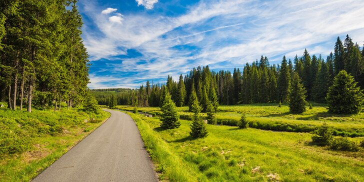 Aktivní dovolená na Šumavě s polopenzí a termíny až do podzimu 2020
