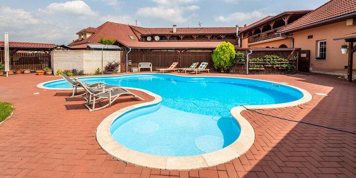 Pobyt blízko Olomouce: hotel s polopenzí, bazénem i zábavou pro děti