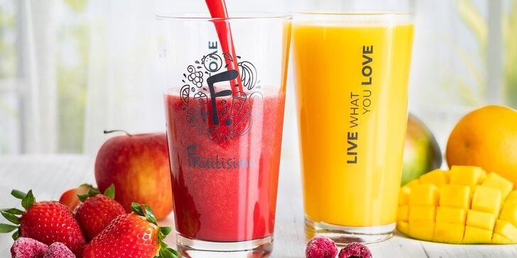 Karta Fruitisimo nabitá kreditem 300 až 2000 Kč a drink CÉČKO zdarma