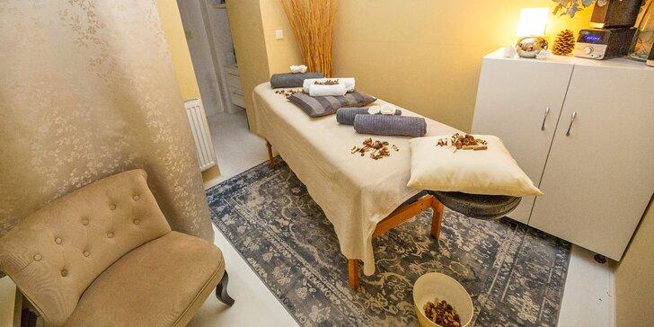 Tahle chvíle patří vám: masáž zdravotní, regenerační, havajská či lávovými kameny
