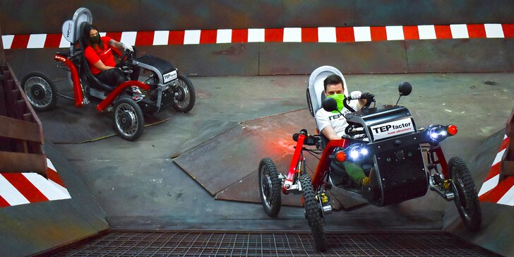 TEPfactor uvádí novinku: vozítka Spider Cars, mobilní úkoly i klasická hra