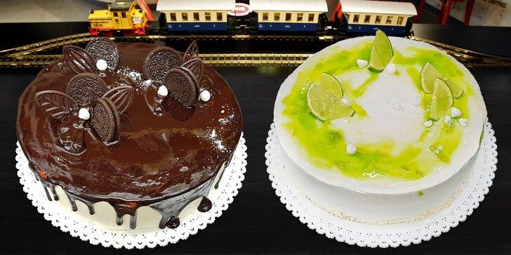 Oslavte to dortem: Oreo, Kinder Bueno i svěží ovocné, průměr 23 cm