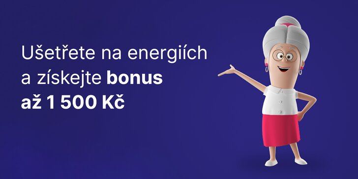 Získejte s Ušetřeno.cz výhodnější smlouvu na elektřinu či plyn a k tomu jednorázový finanční bonus