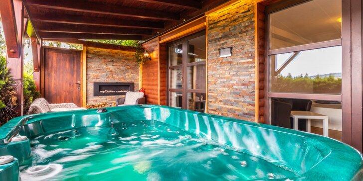 Wellness relaxace v Moravském krasu: luxusní zahradní apartmán a polopenze