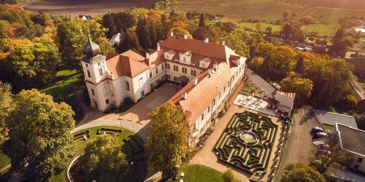 Rodinná vstupenka na Loučeň: park s labyrinty neomezeně a klasická či speciální prohlídka zámku