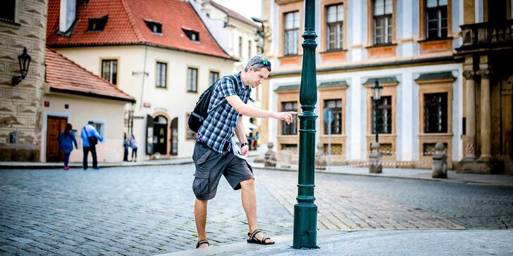 Pražská zákoutí, jak je neznáte: týmová outdoorová hra Příběhy neznámé Prahy