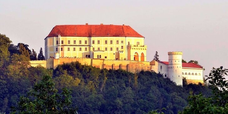 Prohlídka zámku Letovice pro jednoho, dva nebo pro celou rodinu
