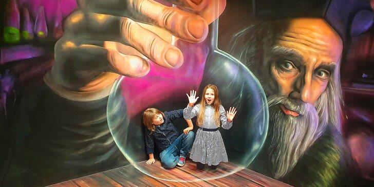 Zažijte v Muzeu fantastických iluzí kouzla na vlastní kůži: vstup pro děti, dospělé i rodinu