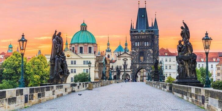 V páru nebo s rodinou do Prahy: pěkný hotel na Vinohradech a snídaně, 2 osoby zdarma