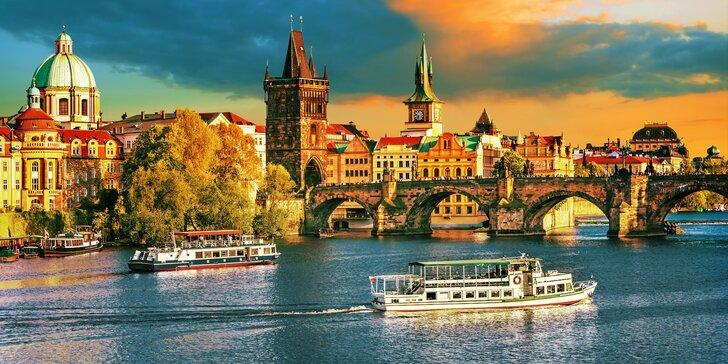4* pobyt v historickém centru Prahy se snídaní i romantickým menu v restauraci u Karlova mostu