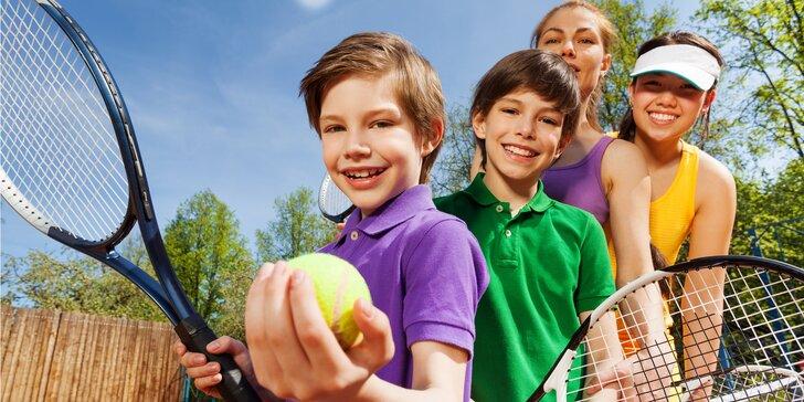 Užijte si aktivní dovolenou: aktivity pro dospělé i tenisový tábor pro děti
