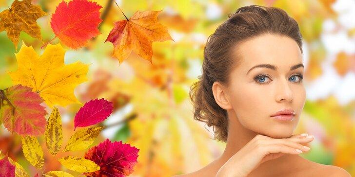 Jen čistá pleť je krásná: hloubkové ošetření s masáží a úpravou obočí