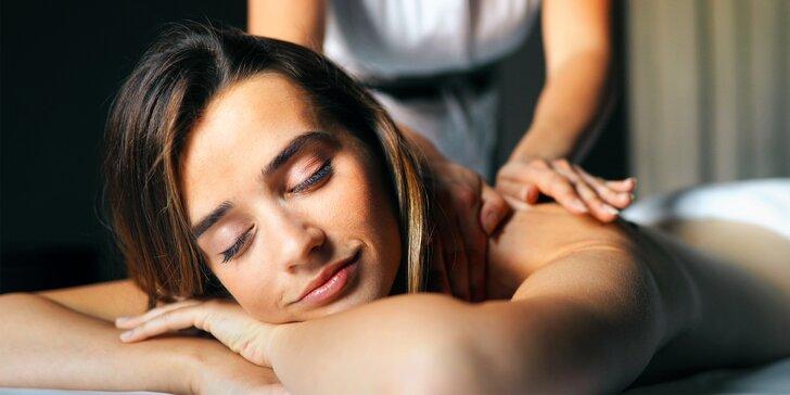 Masáž celého těla na míru: relaxace a zmírnění stresu i bolestivých obtíží