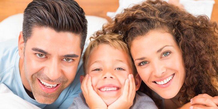 Nový účes pro celou rodinu: Dětský, pánský i dámský střih