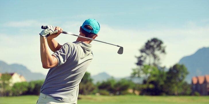 Aktivní 3denní pobyt pro milovníky výletů a golfisty u Broumovských stěn