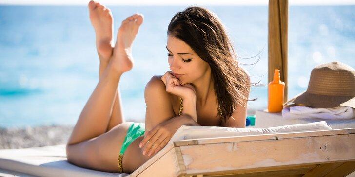 Získejte znovu letní bronz: permanentka na 60 a 150 minut v soláriu