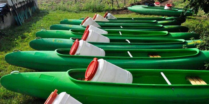 Jednodenní půjčení lodí o víkendech na Berounce: od kanoe pro 2 po šestimístný raft