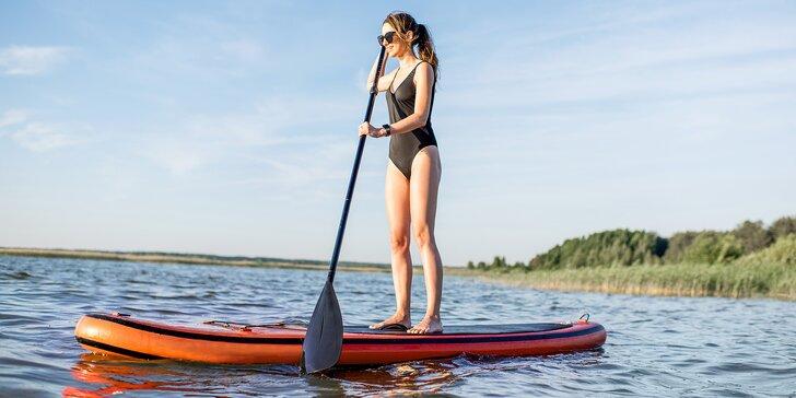 Vodní hrátky kdekoli chcete: půjčení paddleboardu na den či dva včetně vybavení