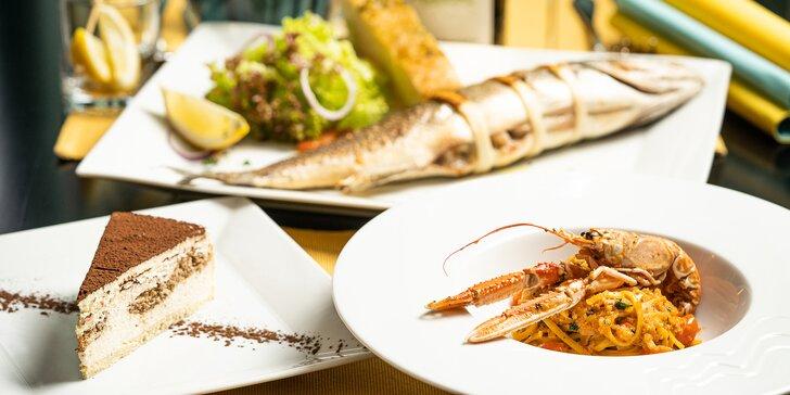 Vychutnejte si lahodné menu v příjemné restauraci i s lahví Rýnského Ryzlinku