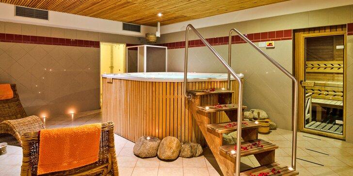 Relax v Krkonoších: pobyt se snídaní i polopenzí a vstup do wellness