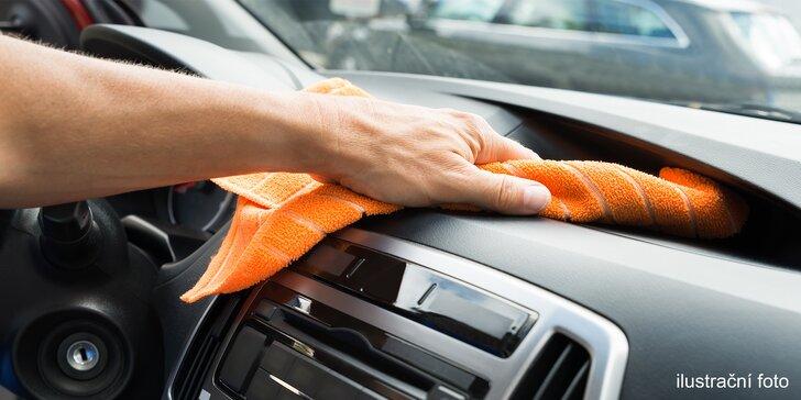 30–180 min. pro čistější vůz: od mytí přes disky, skla i plasty až po tepování interiéru