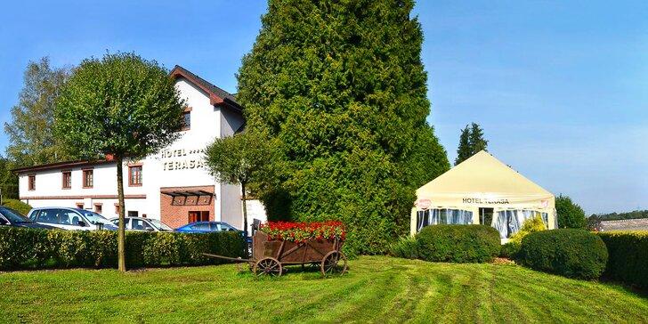 Léto nebo podzim ve 4* hotelu v Beskydech s privátním wellness a polopenzí