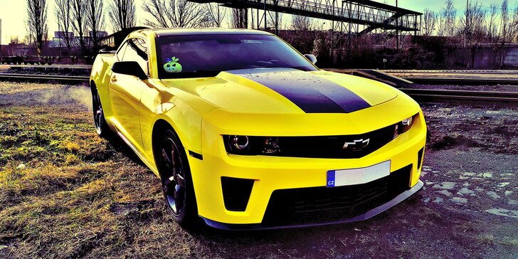 Superjízda v Chevroletu Camaro Bumblebee na 15–60 minut včetně paliva