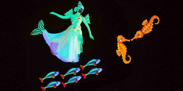Vstupenka na dětské představení O zlaté rybce v divadle Image