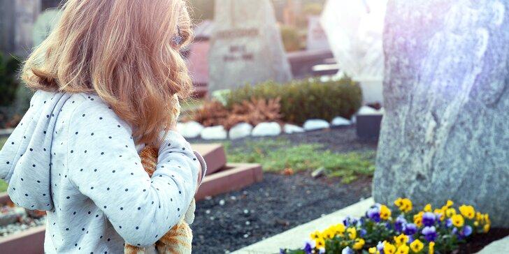 Smrt jako součást života: příspěvek na podpůrné skupiny a terapie pro děti i dospělé