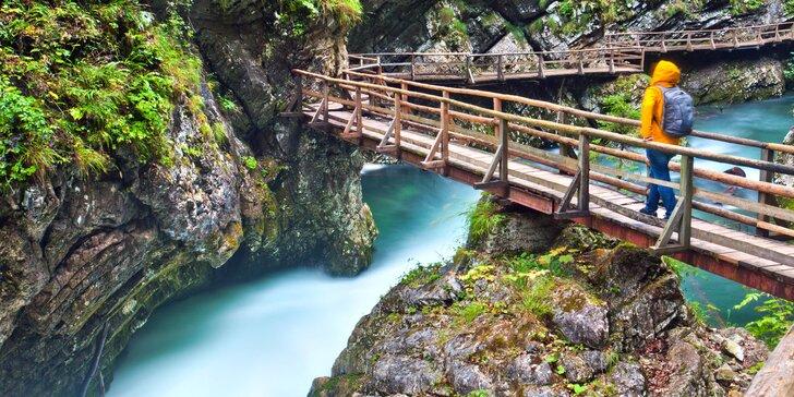 Poznávací výlet do Slovinska: jezero Bled, hrad i soutěska Vintgar